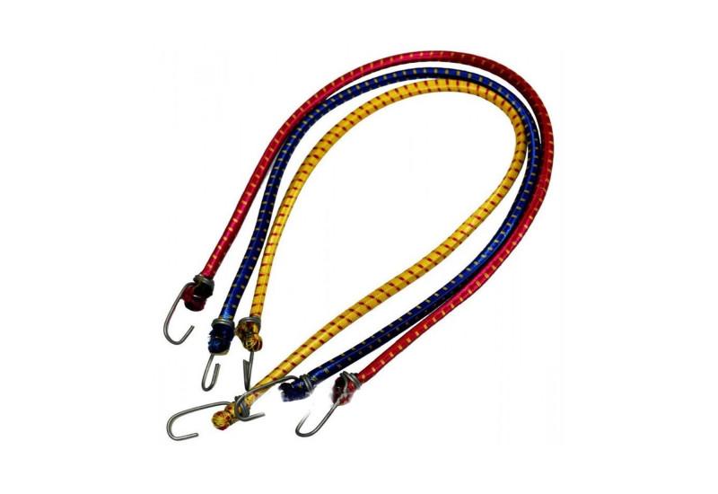 Резинка для багажника 1 метр (цвета в ассортименте) Багажный ремень, резинка с крючками, эспандер, шнур