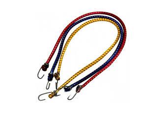 Гумка для багажника 1 метр (кольори в асортименті) Багажний ремінь, гумка з гачками, еспандер, шнур