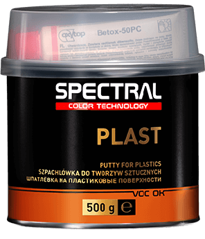 Шпатлёвка для пластика Spectral Plast, 500 г
