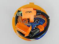 Катушка зажигания Honda Dio/4т 50-150сс (оранжевая с оранжевым 4т насвечником) TVR(113086)