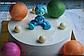 Силиконовая форма полусферы для шоколада  Д 3,6 см из 3шт, фото 2