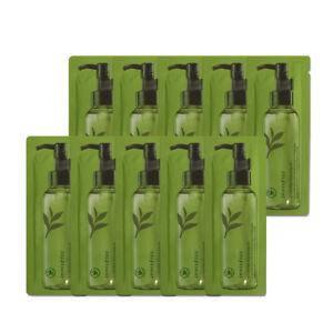 Гидрофильное масло с экстрактом зеленого чая  INNISFREE Green Tea Balancing Cleansing Oil Samples 1мл., фото 2