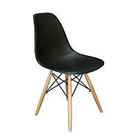 Барный пластиковый стул ENZO MILANO Черный, фото 1