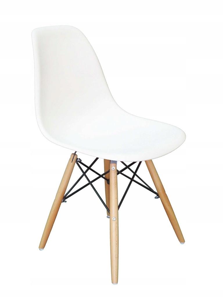 Барный пластиковый стул ENZO MILANO Белый