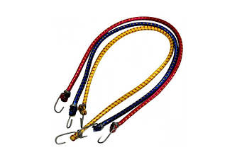 Гумка для багажника 2 метри (кольори в асортименті) Багажний ремінь, гумка з гачками, еспандер, шнур