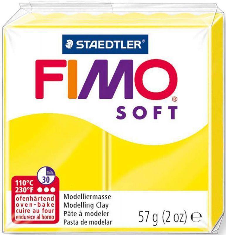 Пластика Soft, Лимонная, 57 г, Fimo