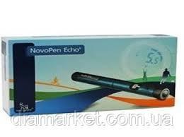 Шприц-ручка НовоПен Эхо (NovoPen Echo) синяя или красная