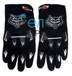 Перчатки велосипедные  KNIOHTHOOD (черные) с пальцами