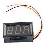 Цифровий вольтметр 100В, фото 2
