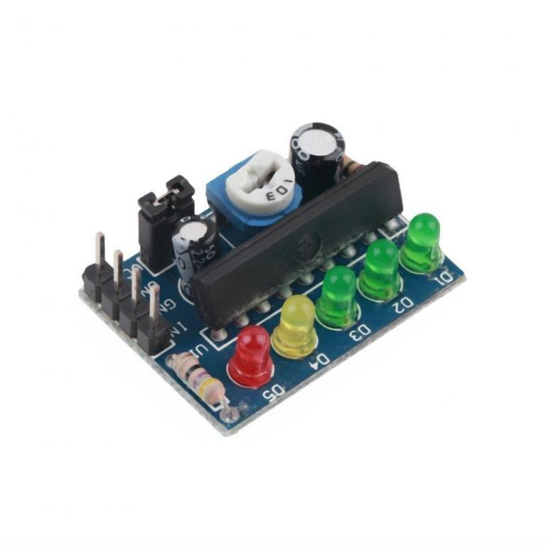 Індикатор рівня електричного сигналу