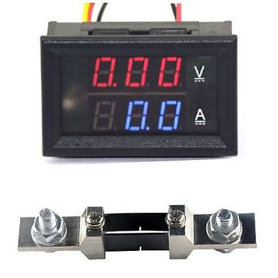 Цифровий амперметр-вольтметр, 200В, 200А