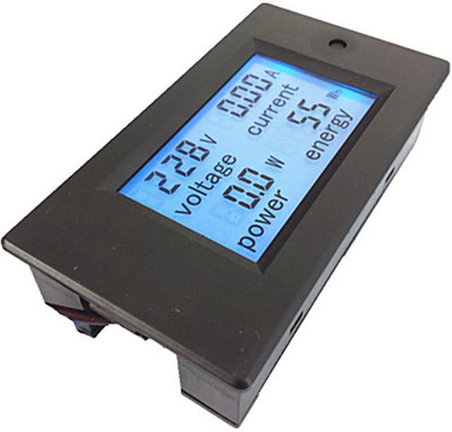 Вимірювач параметрів струму, ватметр, AC 220В, 20А