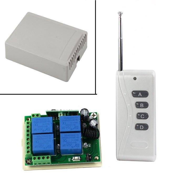Бездротовий дистанційний 4-канальний вимикач