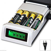 Зарядний з РКІ для акумуляторів АА, ААА, фото 1