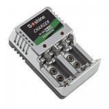 Зарядний для акумуляторів АА, ААА, Крона, фото 3