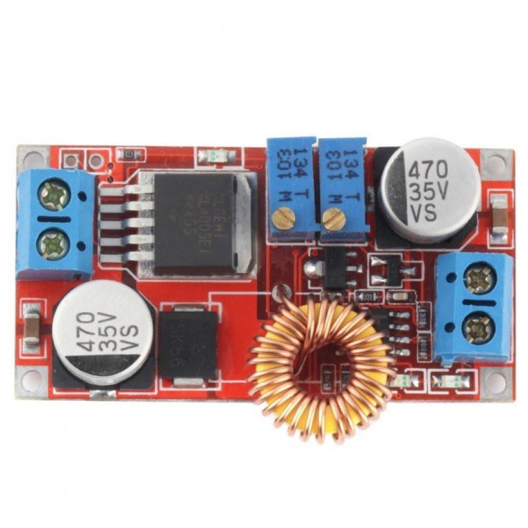 Понижуючий стабілізатор струму і напруги 5А