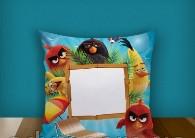 "Печать на подушке ""Angry Birds"""