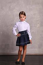 Школьная блузка для девочки Школьная форма для девочек ПромАтельеСервис Украины снежинка,