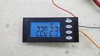 Вимірювач параметрів струму, ватметр, AC 220В, 20А з кнопками