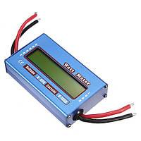 Вимірювач параметрів струму, ватметр, DC 60В, 100А, фото 1