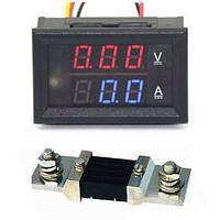 Цифровий амперметр-вольтметр, 100В, 500А