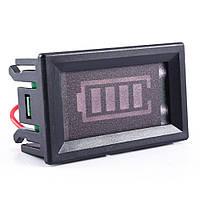 Індикатор рівня заряду, 12в, 4-сегментний в корпусі, фото 1