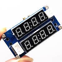Понижуючий регульований перетворювач c вольтметром і амперметром, 5А