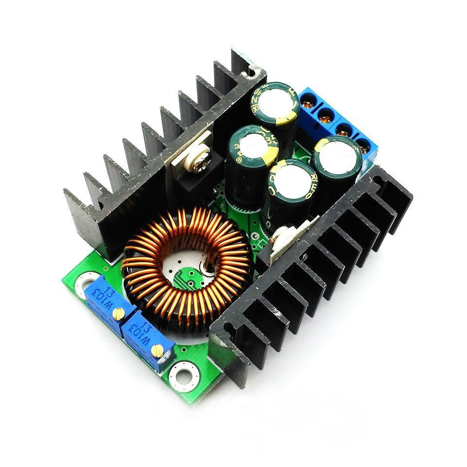 Понижуючий стабілізатор струму і напруги, 32В, 12А