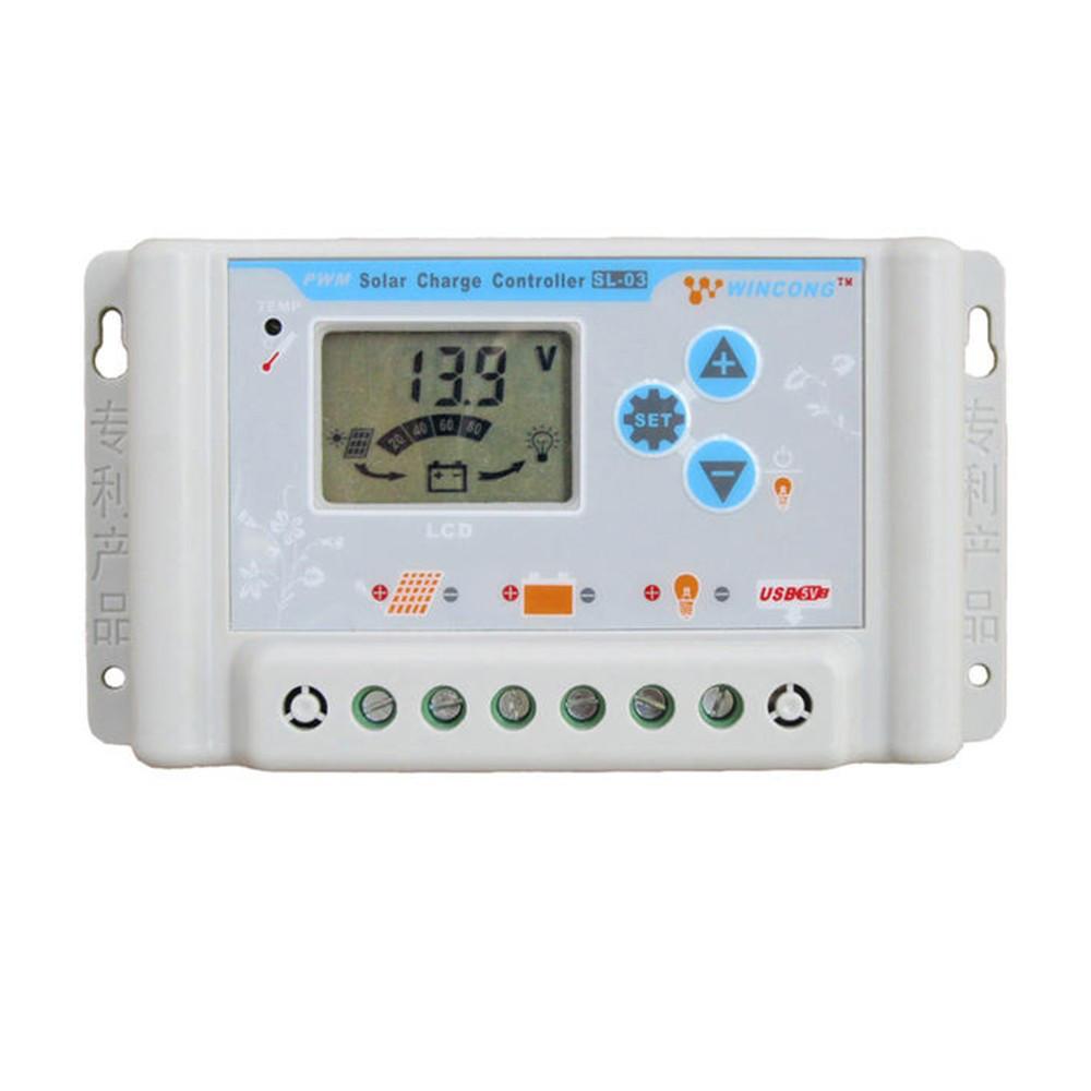 Багатофункціональний контролер заряду сонячних батарей 30А