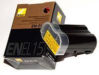 Акумулятор для фотоапаратів NIKON 1 V1, D7000, D7100, D7200, D600, D610, D800, D800E, D810 - EN-EL15