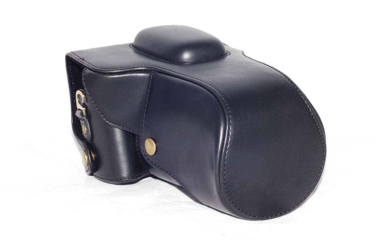 Защитный футляр - чехол для фотоаппаратов CANON 100D - черный