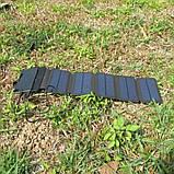 Складна портативна сонячна батарея 10 Вт, фото 7