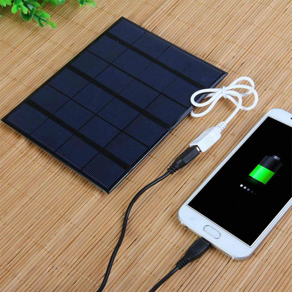 Портативна сонячна панель, 5в, 3,6Вт. Solar Panel GH165X135