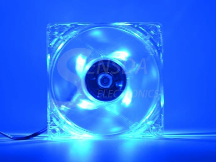 Вентилятор з синім підсвічуванням