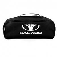 """Сумка в авто 2 отдела с логотипом DAEWOO черная  """"Beltex"""""""