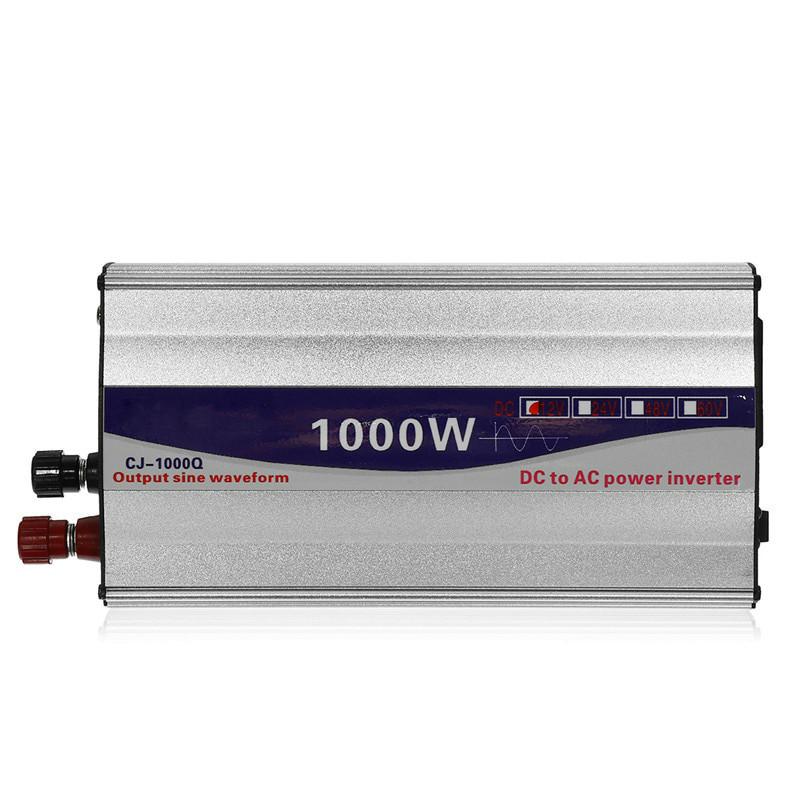 Перетворювач напруги (інвертор) 1000Вт 12В