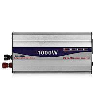 Перетворювач напруги (інвертор) 1000Вт 12В, фото 1