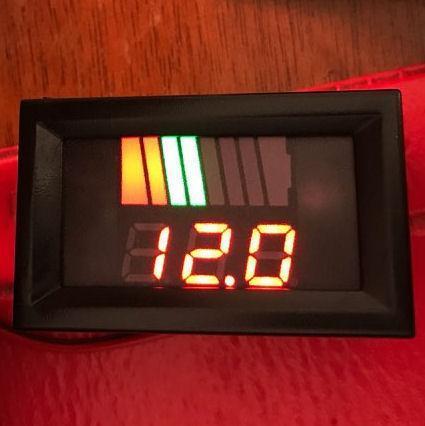 Індикатор рівня заряду автоматичний, 12 - 72В
