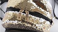 Рюкзак с пайетками для сублимации ЗОЛОТО, фото 7