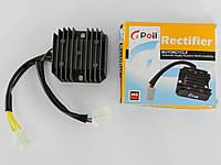 Регулятор напряжения 4т GY6-125/150сс 5 проводов (3+2 фишка мама) Gpoil(03241)