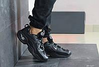 Мужские кроссовки Reebok кожаные,черные