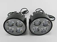 Фары дополнительные светодиодные (с креплением под зеркала)(112896)