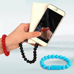 Кабель браслет Wearable Bracelet Charging Line нужная вещь