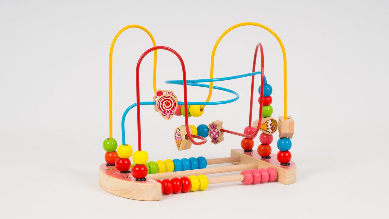 Развивающая деревянная игра Лабиринт. 2 вида