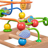 Дерев'яна іграшка Пальчиковий лабіринт №3 МДІ Д072, фото 3