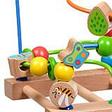 Дерев'яна іграшка Пальчиковий лабіринт №3 МДІ Д072, фото 4