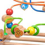 Дерев'яна іграшка Пальчиковий лабіринт №3 МДІ Д072, фото 5