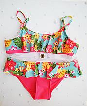 Детский купальник для девочки Польша MAJA Розовый