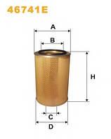 46741E фильтр воздушный наружн.WIX (071242;AZ48391;87682980) JD2266/Lex440-580/Jag685-880