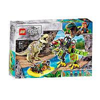 "Конструктор 82153 (АналогLegoJurassic World) ""Тиранозавр против робота""526 деталей, фото 1"